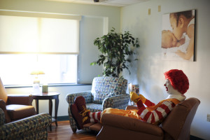 Ronald in Family Room