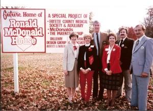 Groundbreaking December 1984