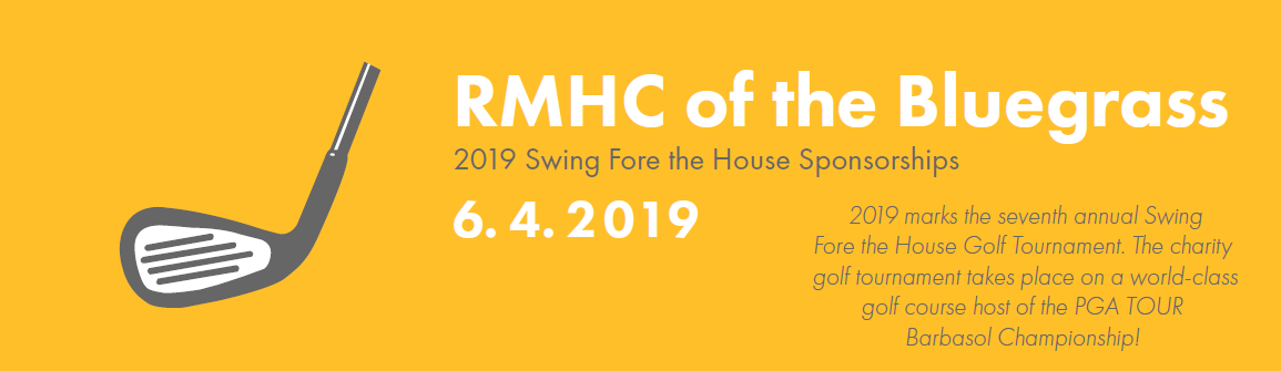 Swing Fore the House - Ronald McDonald House Charities of